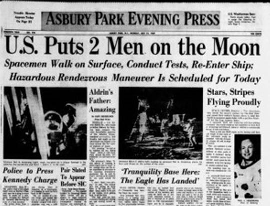 July 21 1969 front page