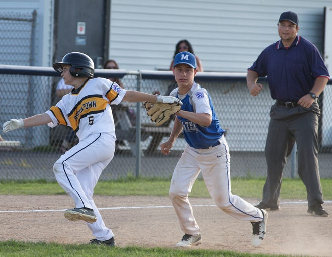 The 2019 Little League Baseball Section 3 Tournament featuring Milltown vs Bordentown.Toms River, NJTuesday, July 16, 2019
