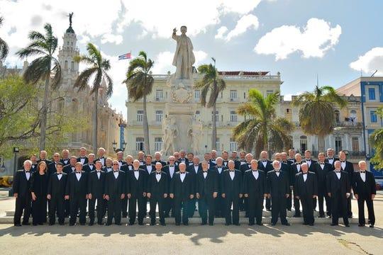 The CenturyMen dressed to thrill in Cuba.