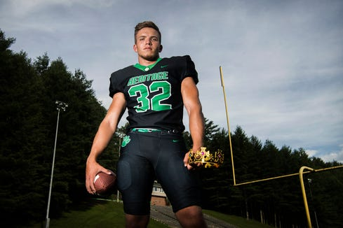 Mountain Heritage's London Neill is returning for his senior season as a linebacker and running back for the Cougars.