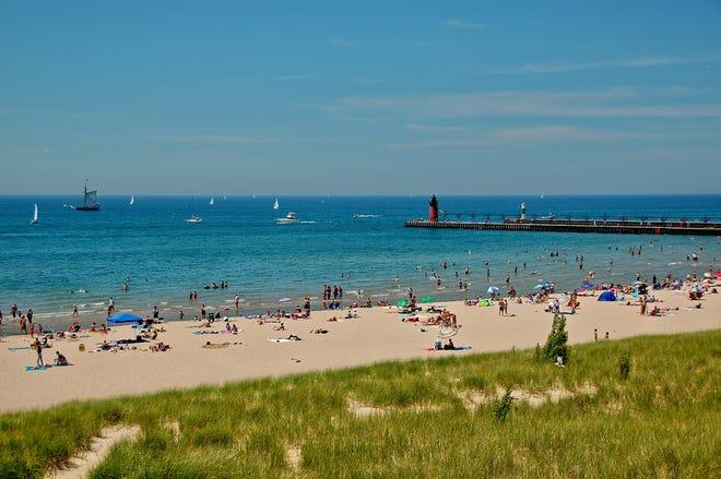 South Haven has seven public beaches on Lake Michigan.