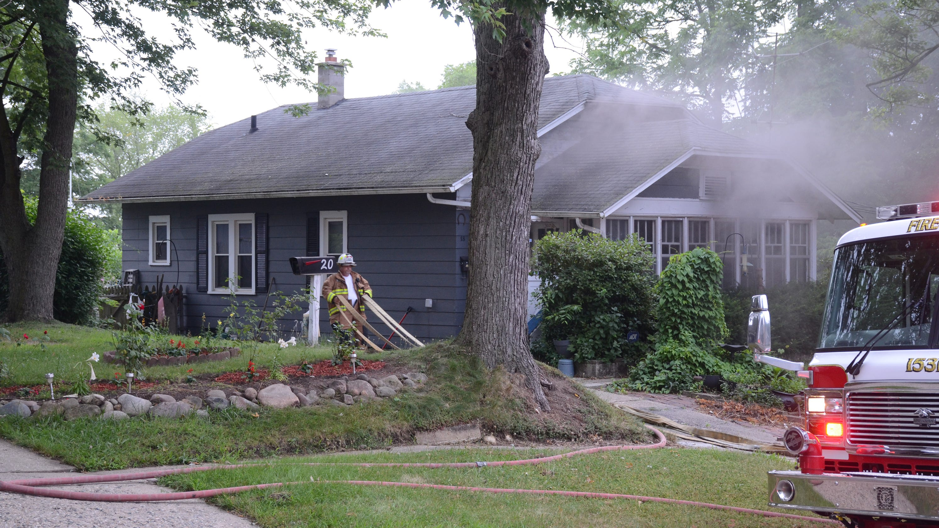 Pennfield Township man dies in house fire