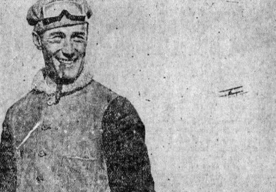 Cal Rodgers in Binghamton in 1911.