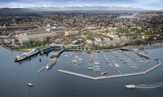 The Port of Bremerton Marina