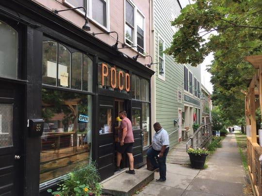 Restaurant Poco opened in April at 55 Main St. in Burlington.