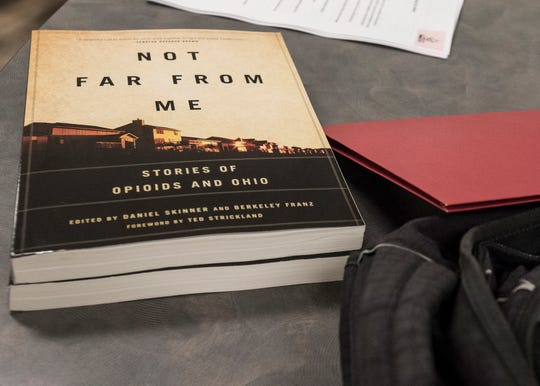 "The book ""Not Far from Me: Stories of Opioids and Ohio"" features the personal stories of those involved with drugs and drug addiction, which includes two stories from Chillicothe residents Dave Huggins and Brandy Morris-Hafner."