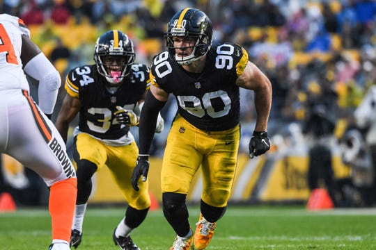 best sneakers a82aa 3ab46 Pittsburgh Steelers have two linebackers in our All-AFC ...