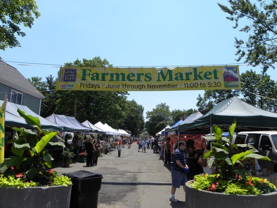 The Highland Park Farmers Market is one of a few in Central Jersey that are allowing prepaid pickup only to limit the risk of COVID-19 infection.