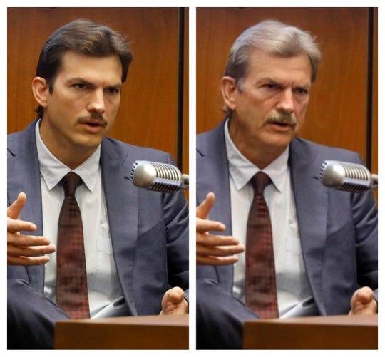 Eastern Iowa-born actor Ashton Kutcher aged by Faceapp.