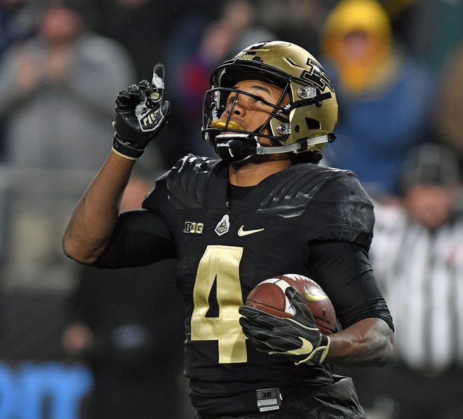 Purdue wide receiver Rondale Moore announced he's opting out of the 2020 college football season.