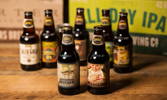 Founders Brewing Co. beers.