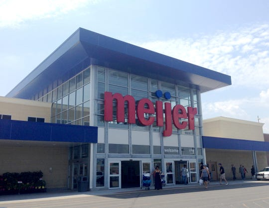 The Meijer store located at 1301 8 mile in Detroit, east of Woodward. Picture taken June 28, 2014.