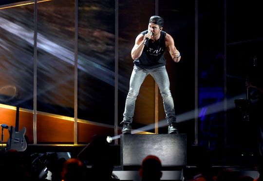 Kip Moore performs during the 2017 iHeartCountry Festival, A Music Experience by AT&T at the Frank Erwin Center on May 6, 2017 in Austin, Texas.
