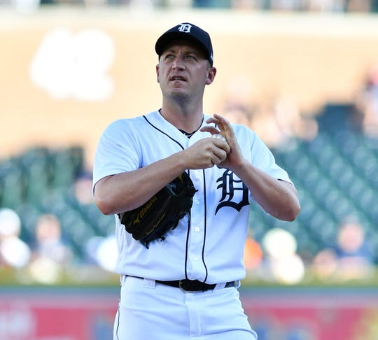 Jordan Zimmermann has allowed 69 hits and 42 runs over 52.2 innings. The Tigers are 3-8 in games he starts this season.