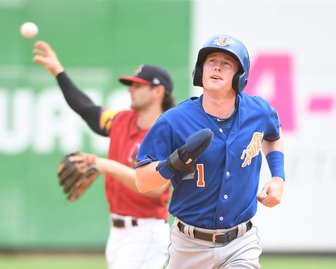 Durham Bulls' Jake Cronenworth, who grew up in St. Clair and played at Michigan, is one of the few two-way players in the game.