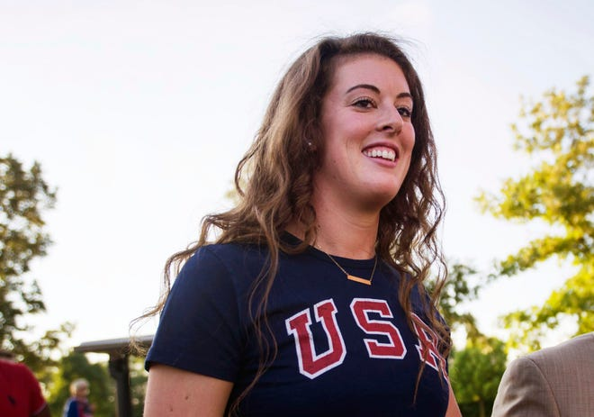 After semi-retiring from competitive swimming in 2016, Canton's Allison Schmitt is back in the pool and gearing up to qualify for her fourth Olympics.