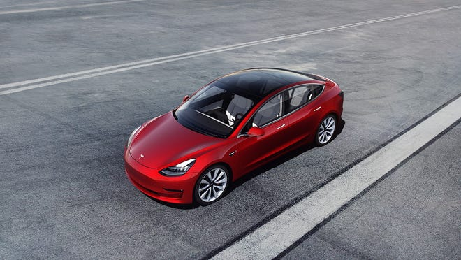 The Model 3 now starts at $38,990