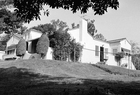 The hilltop home in Los Angeles' Los Feliz district, about five miles northwest of the downtown section where Leno and Rosemary LaBianca were found murdered.