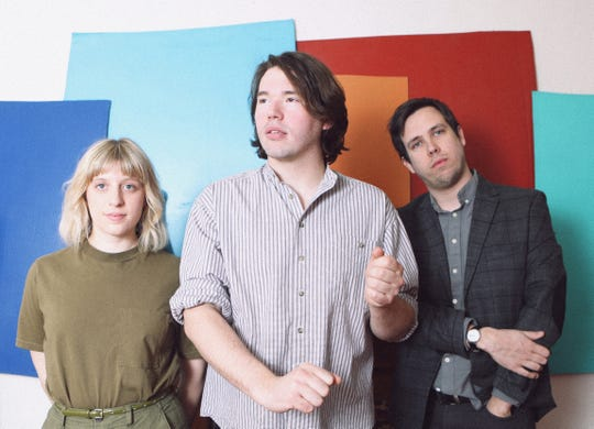 Deadbeat Beat is Maria Nucculli, left, Alex Glendening and Zak Frieling