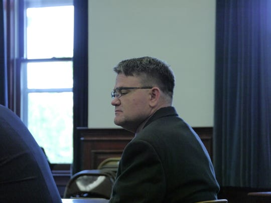Scott Wayne Ellison listens to testimony during his trial for sexual abuse and rape Tuesday, July 16, 2019.