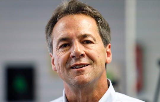 Democratic presidential candidate Montana Gov. Steve Bullock.