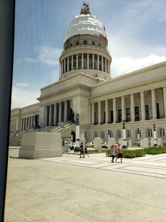 The Cuban Capitol.