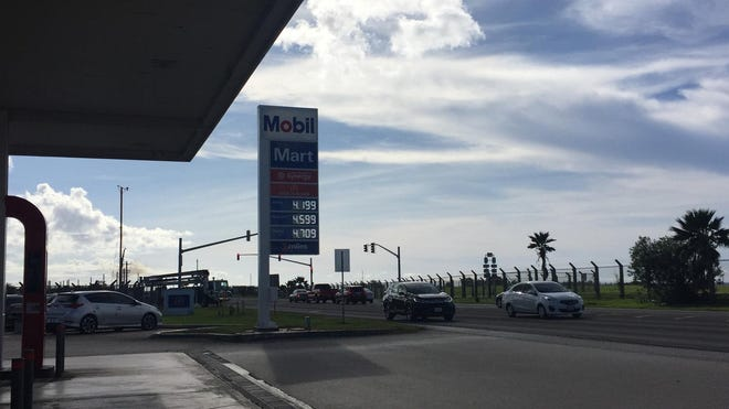Gas prices increased 10 cents on July 17, 2019.