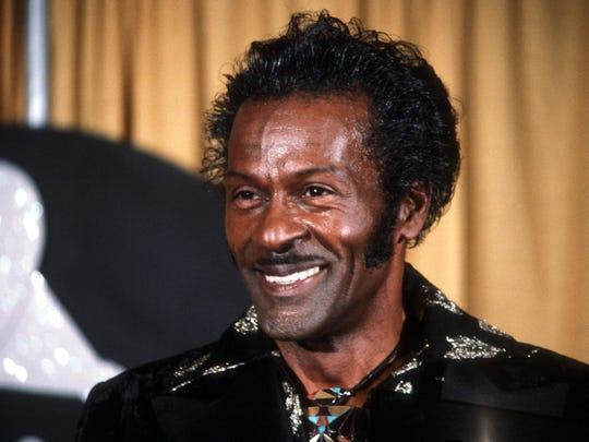 Chuck Berry (1926-2017).