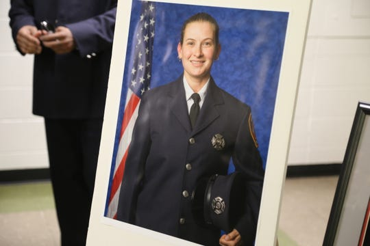 Daryl Pace was an Ithaca firefighter for the past 10 years until she retired and then died from cancer on July 8 at the age of 36.