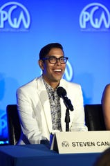 "Binghamton University alum Steven Canals, shown at the Produced By Conference 2019 on June 9 in Burbank, California, the co-creator, co-executive producer and writer of the Emmy-nominated FX series ""Pose."""
