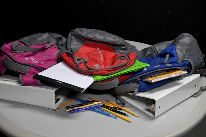 Through commitments from more than two dozen churches and businesses, students at four Gibson County elementary schools won't have to buy any school supplies.
