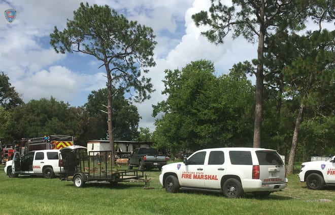 An Iberia Parish Sheriff's deputy was killed in a mobile home fire and another was injured.