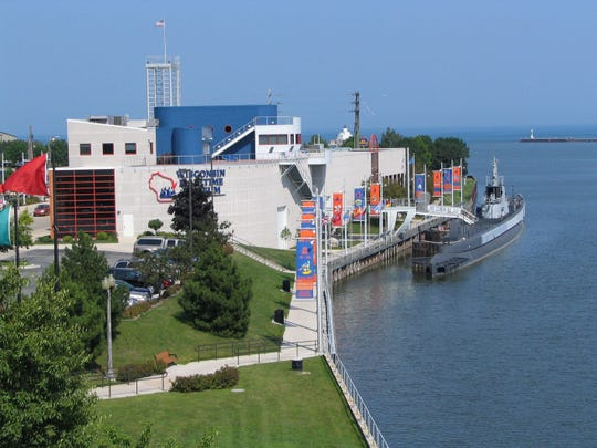 The Wisconsin Maritime Museum in downtown Manitowoc.