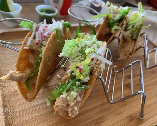Tinga tacos from Turco Taco, Naples.