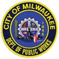 Badge of Department of Public Works