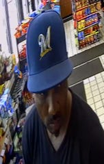 Milwaukee police are looking to identify this man after an armed robbery Tuesday in Milwaukee.