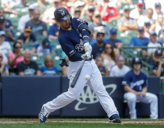 Expectations were high for Brewers phenom Keston Hiura, but he is quickly exceeding them