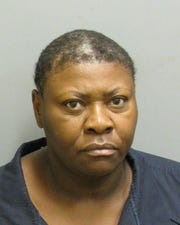 Terri Tellis was charged with second-degree assault.
