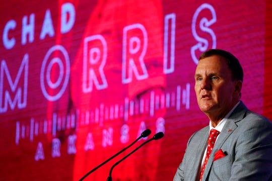 What Arkansas coach Chad Morris said at SEC Media Days 2019