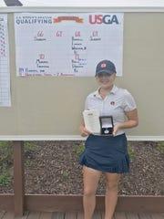 Pike Road's Brooke Sansom recently won an U.S. Women's Amateur qualifier.