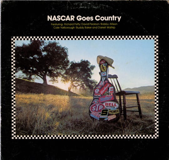 "Album art for ""NASCAR Goes Country"""