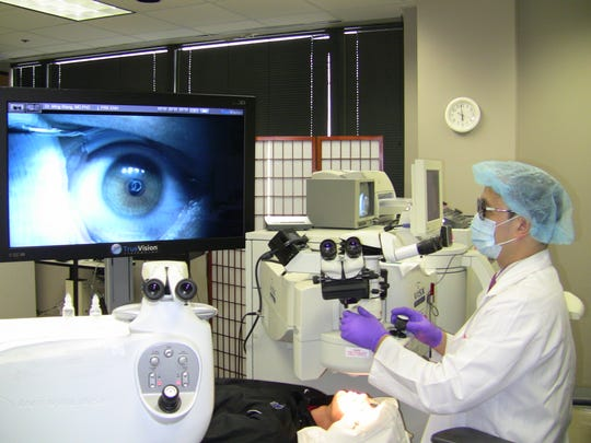 Dr. Ming Wang, a graduate of Harvard & MIT (M.D., magna cum laude; PhD, laser physics), performed the world's first 3D LASIK procedure.