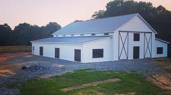 Hickory Meadow rustic venue in Dickson County.