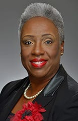 At-large Council member Sharon Hurt