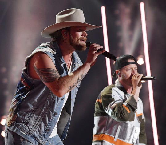 Florida Georgia Line performs during the 2019 CMA Fest Thursday, June 6, 2019, at Nissan Stadium in Nashville, Tennessee.