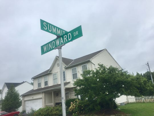 According to a recent traffic study, as originally proposed, a Sage Pointe subdivision entrance could align with existing Windward Drive on the opposite side of Summit Road.