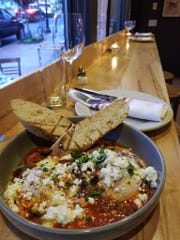 Meny Vankin's shakshuka -- can be found at both his restaurants in Montclair