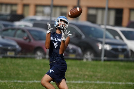 Wayne Valley 7 on 7 tournament on Wednesday, July 17, 2019. Wayne Valley vs. Pope John.
