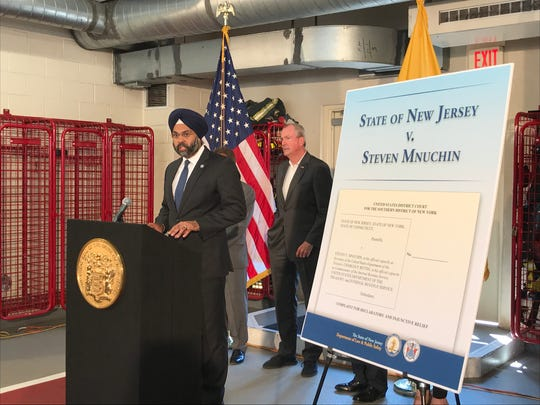 New Jersey Attorney General Gurbir Grewal speaks about a lawsuit New Jersey filed against the IRS and Treasury Department about SALT deductions.
