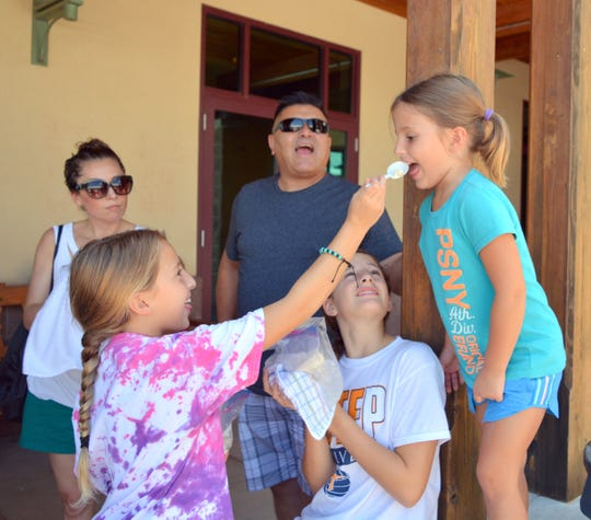 Families can enjoy homemade ice cream, fun and games from noon to 4 p.m. on Sunday at the 16th annual Ice Cream Sunday at the New Mexico Farm and Ranch Heritage Museum in Las Cruces, NM.